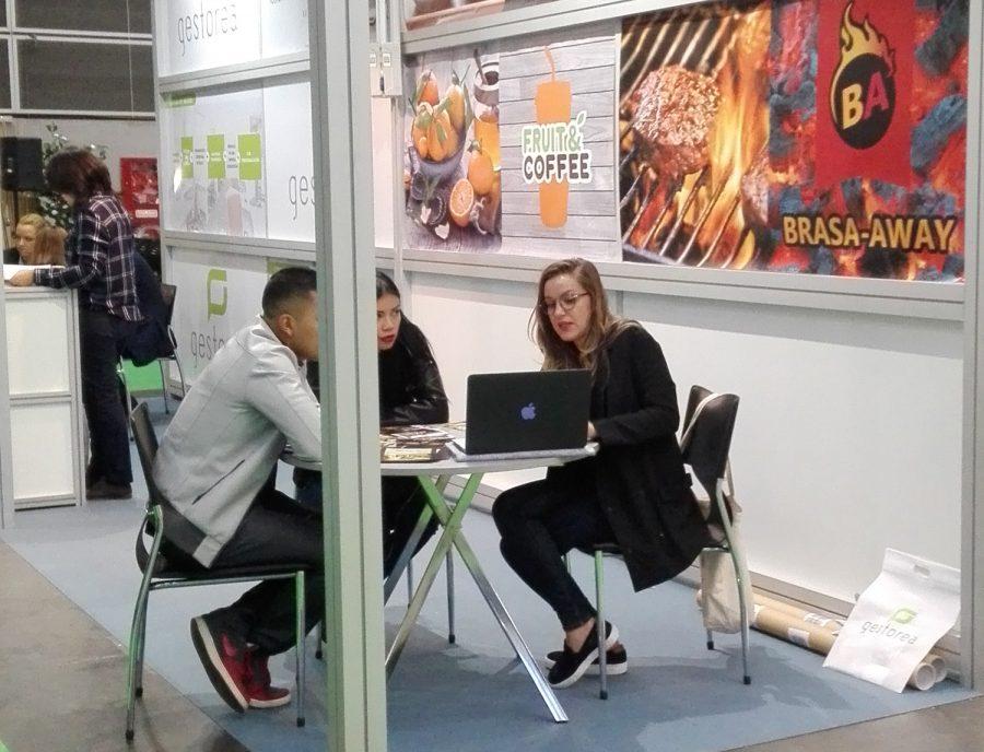 Brasa Away arrasa en el Salón Internacional de la Franquicia SIF&Co